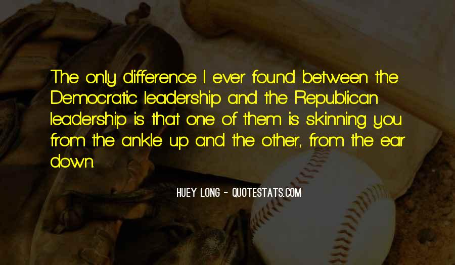 Quotes About Democratic Leadership #668607