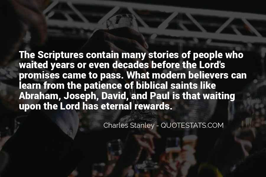 Quotes About Patience In Bible #474191