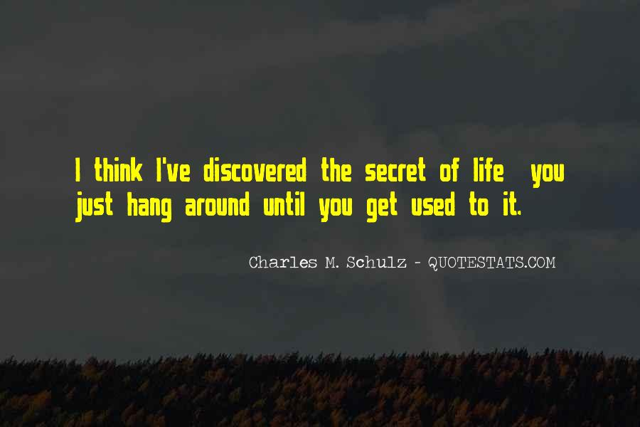 Quotes About Having A Secret Life #17098