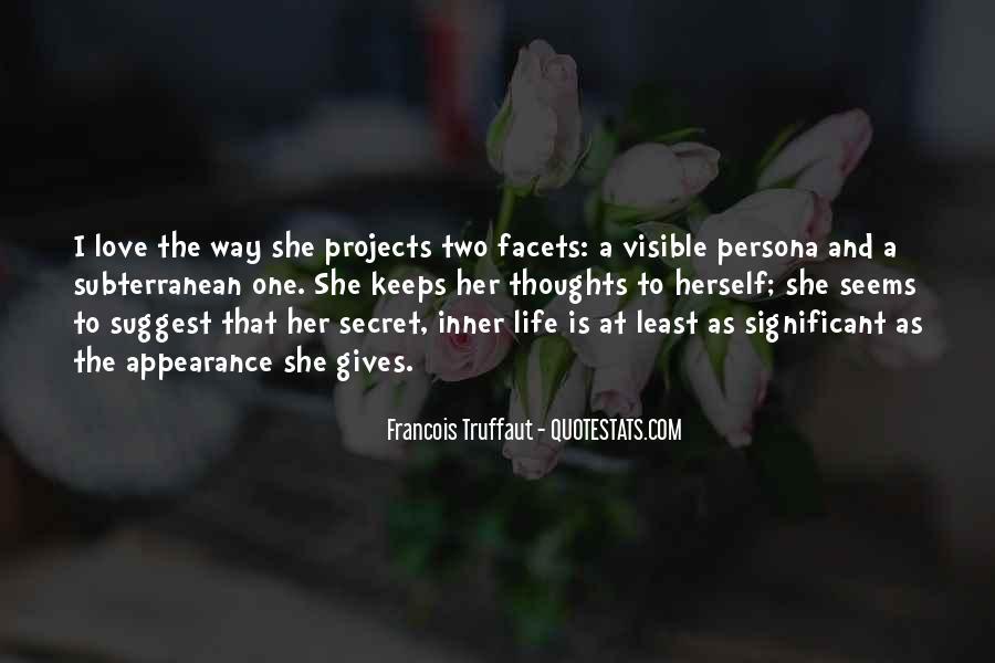Quotes About Having A Secret Life #23639