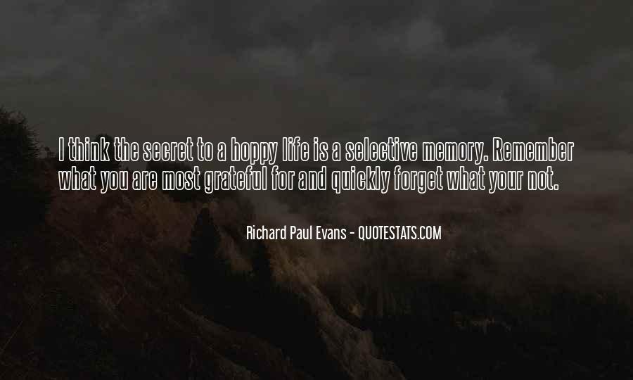 Quotes About Having A Secret Life #60957