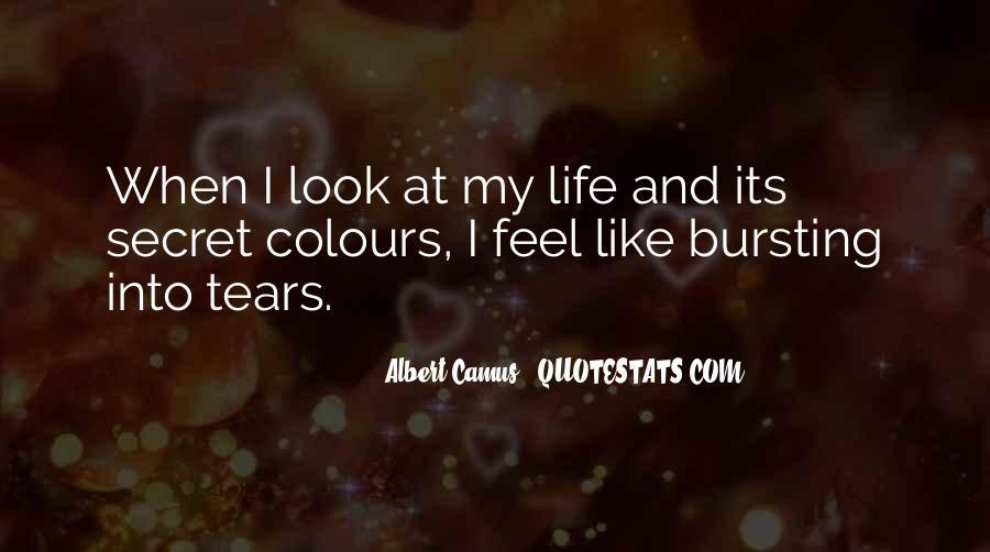 Quotes About Having A Secret Life #72095