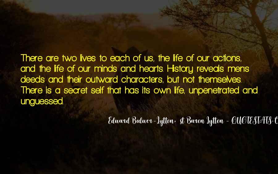 Quotes About Having A Secret Life #944