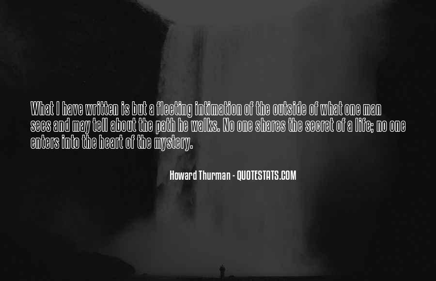 Quotes About Having A Secret Life #9489