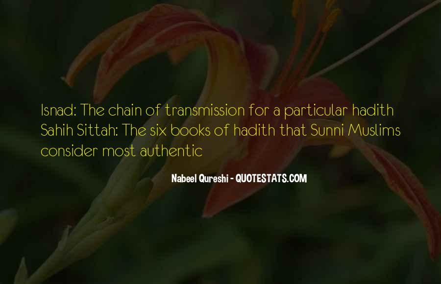 Quotes About Hadith #567958