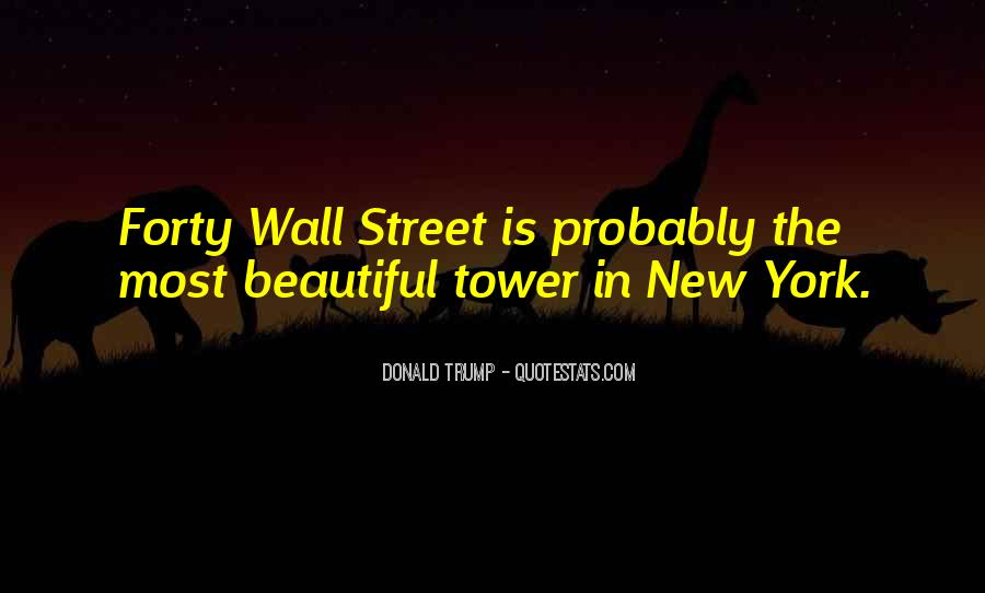 Quotes About The Wall Donald Trump #1331156