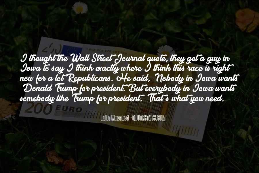 Quotes About The Wall Donald Trump #1337223