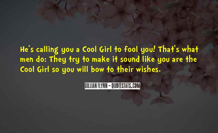 Quotes About Calling Someone A Fool #602406