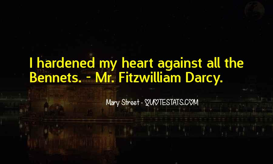 Quotes About Darcy #155280