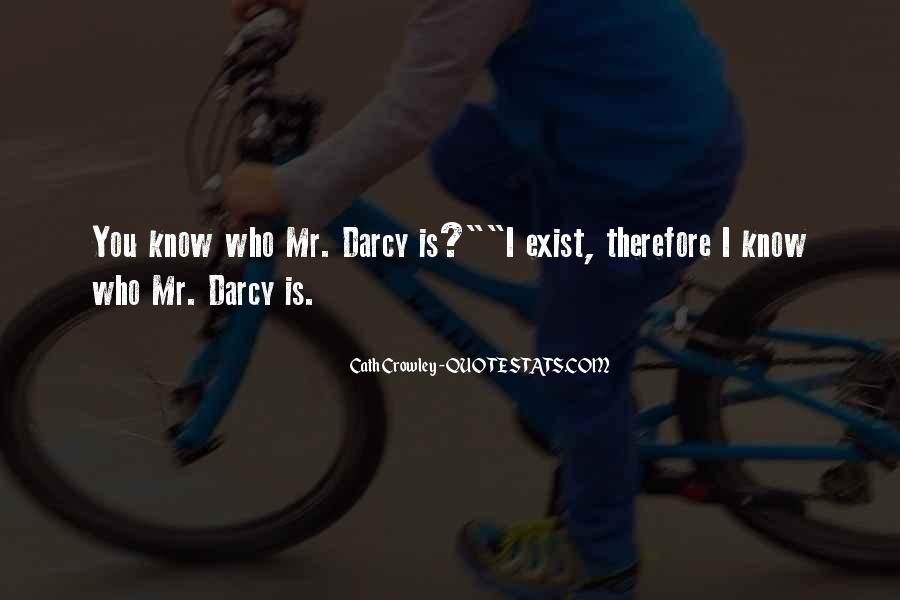 Quotes About Darcy #188371