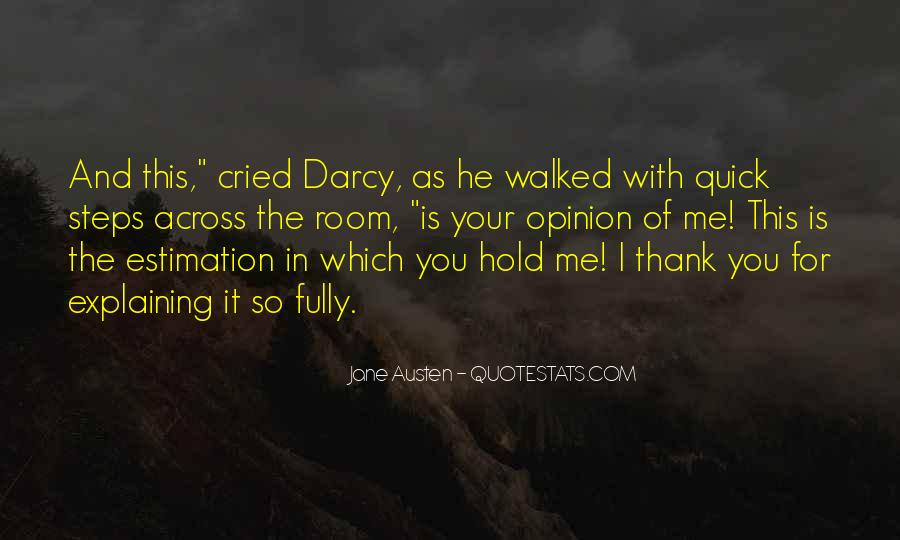 Quotes About Darcy #20358
