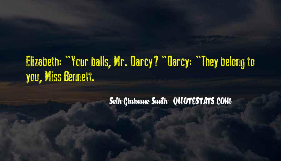 Quotes About Darcy #729576