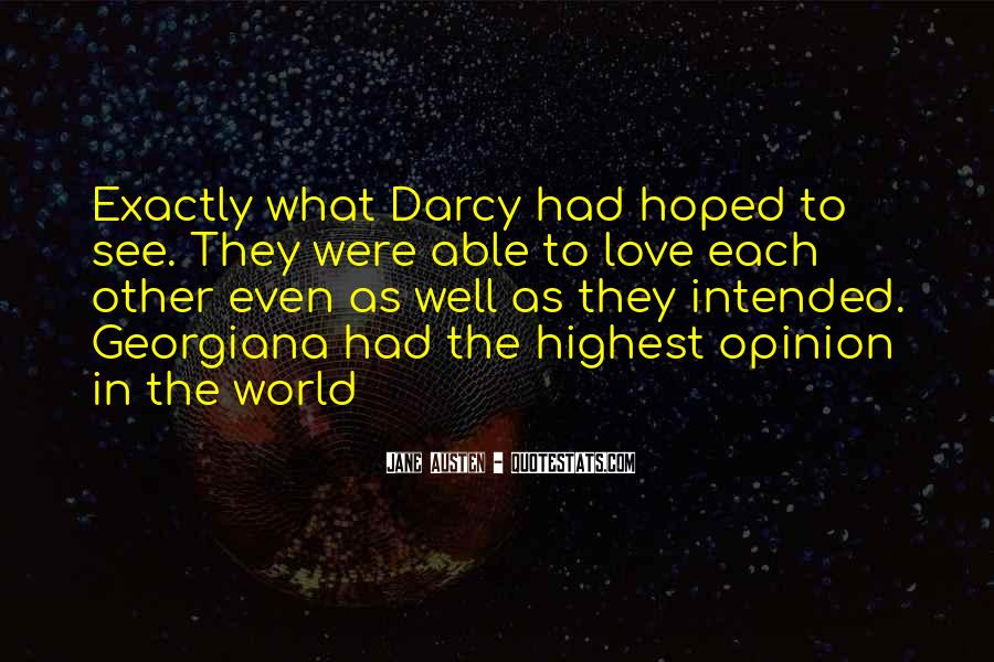 Quotes About Darcy #736232