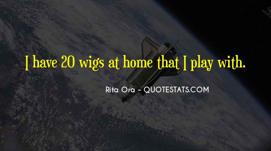 Quotes About Wigs #899998
