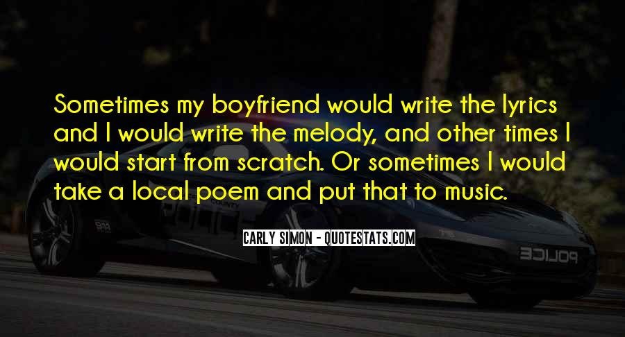 Quotes About Local Music #1159506