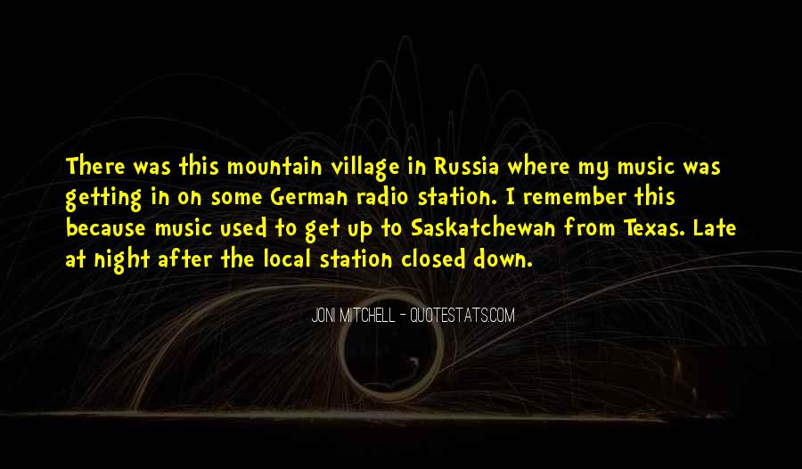 Quotes About Local Music #1339626