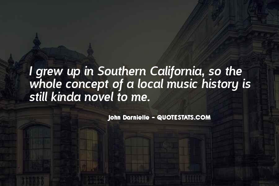 Quotes About Local Music #676911