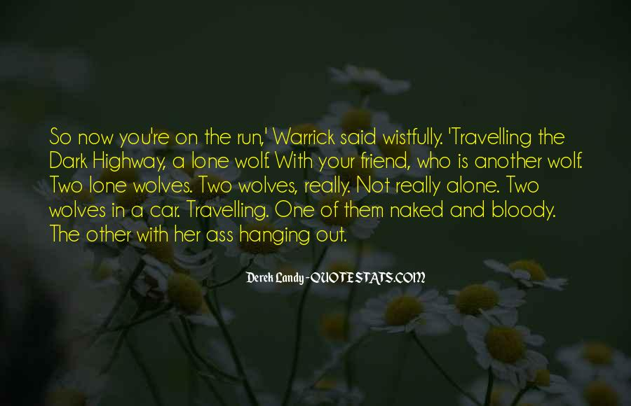 Quotes About Travelling Alone #1366695