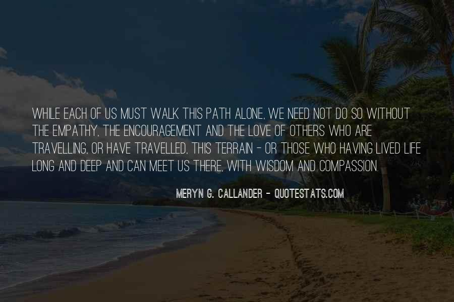 Quotes About Travelling Alone #369362