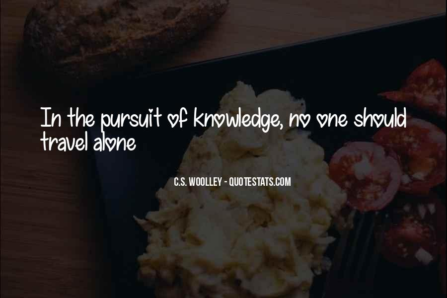 Quotes About Travelling Alone #619044
