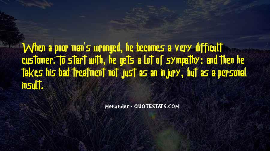 Quotes About Treatment Of The Poor #1221007