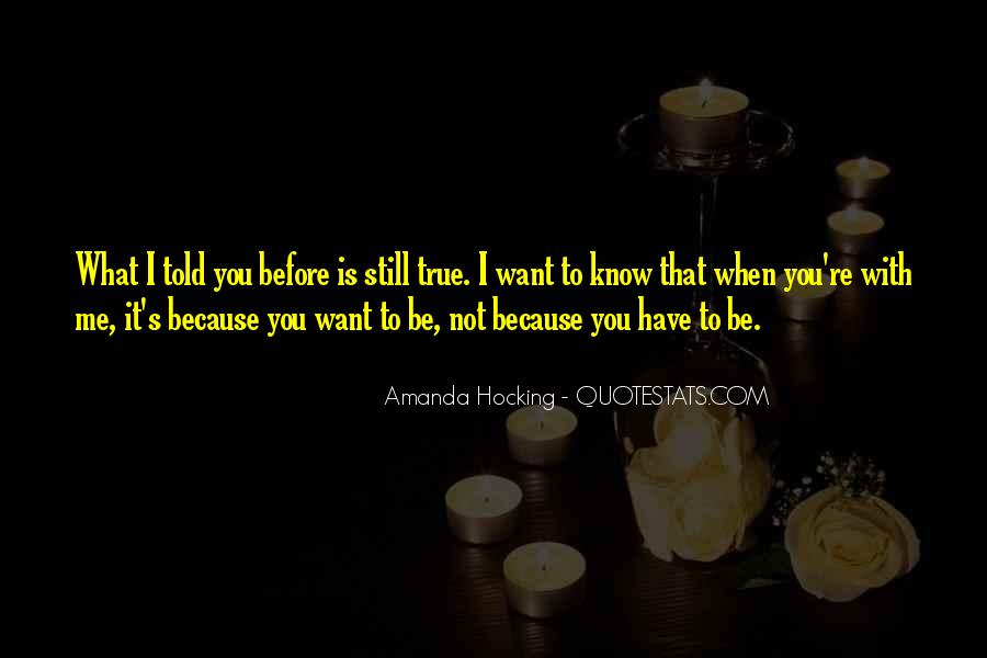 Quotes About Not Know What You Want #151650