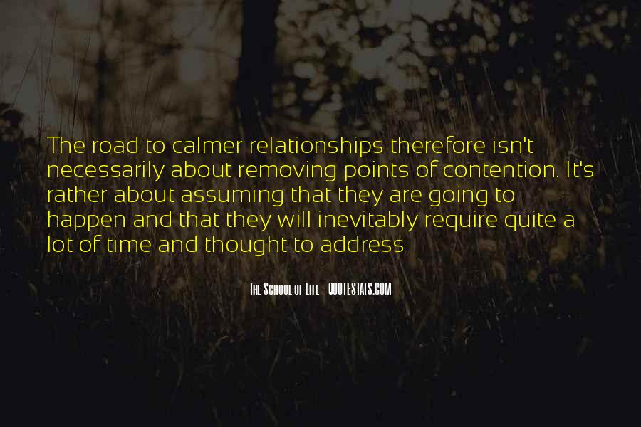 Quotes About Assuming In Relationships #1461966