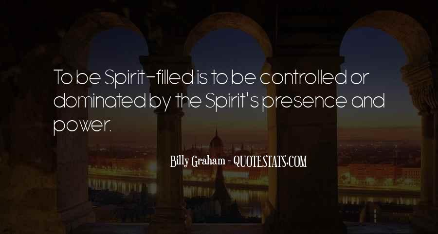 Quotes About Spirit Filled Life #1132933