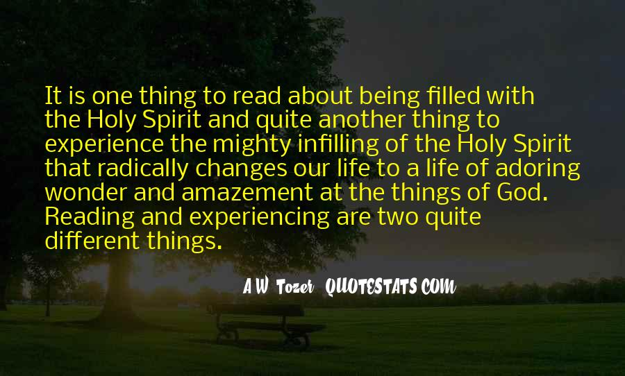 Quotes About Spirit Filled Life #1485202