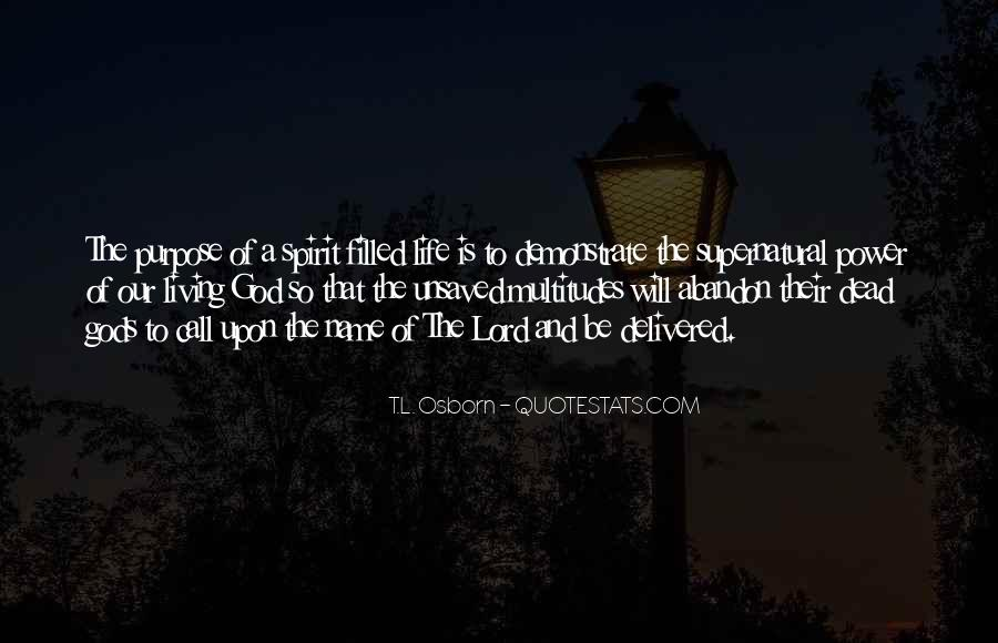 Quotes About Spirit Filled Life #1876485