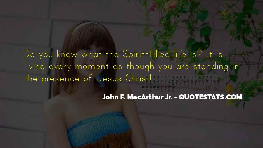 Quotes About Spirit Filled Life #20188