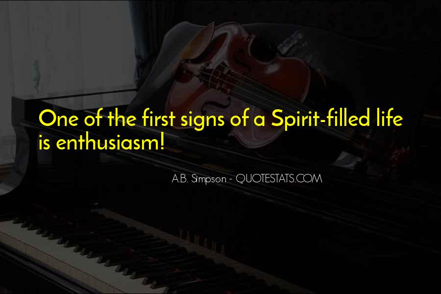Quotes About Spirit Filled Life #619762