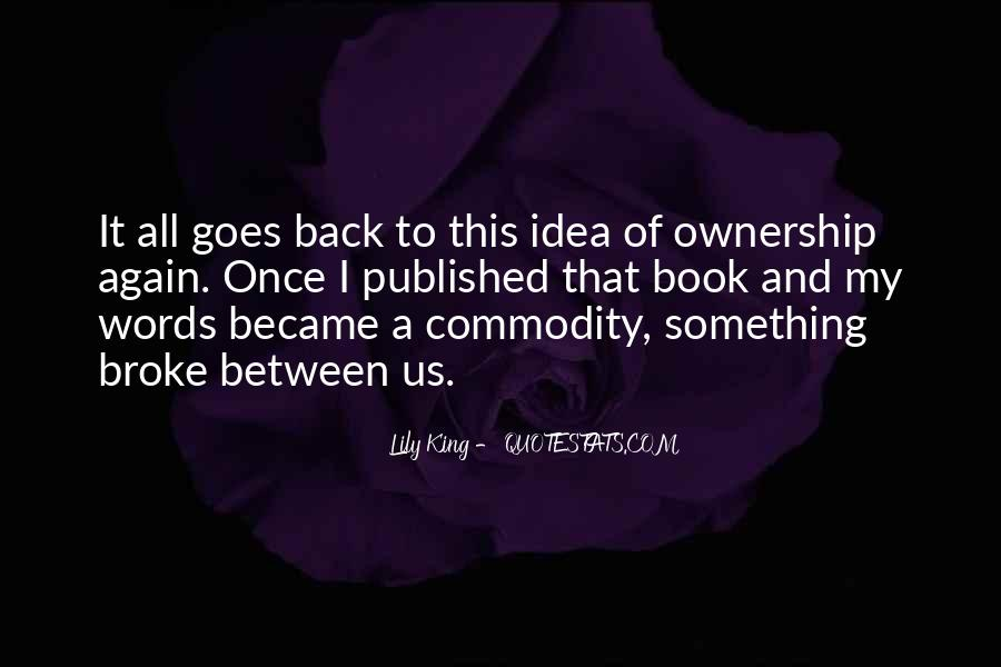 Quotes About Commodity #108912