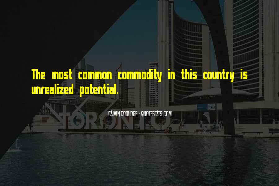 Quotes About Commodity #189909
