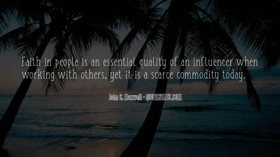 Quotes About Commodity #195494