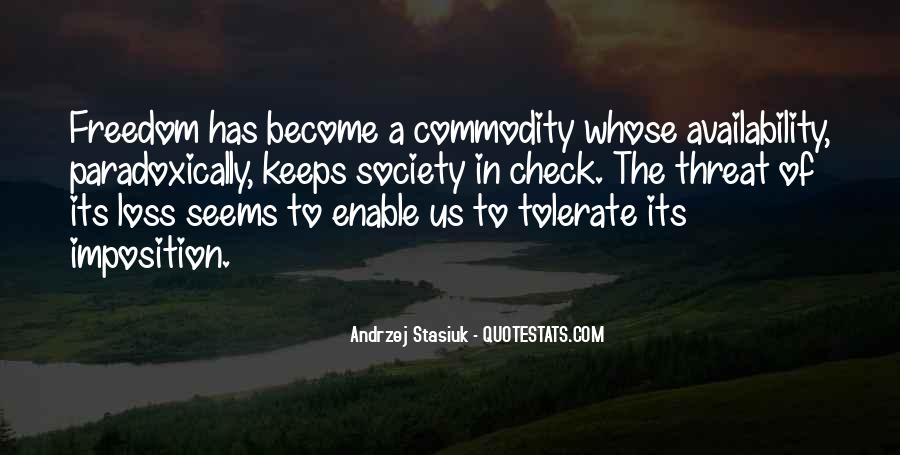 Quotes About Commodity #271528