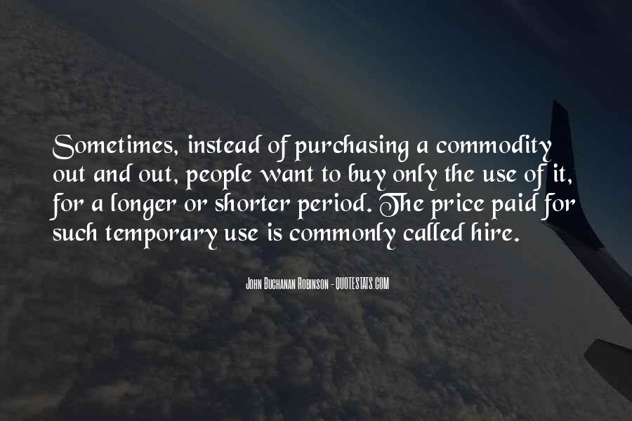 Quotes About Commodity #289608
