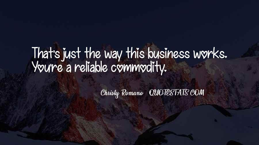 Quotes About Commodity #298644