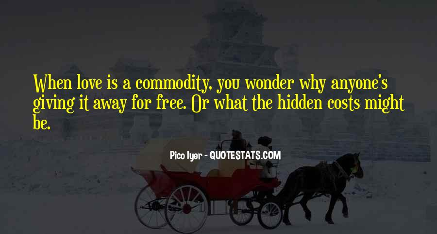 Quotes About Commodity #320891