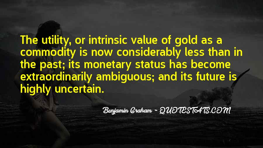 Quotes About Commodity #360089