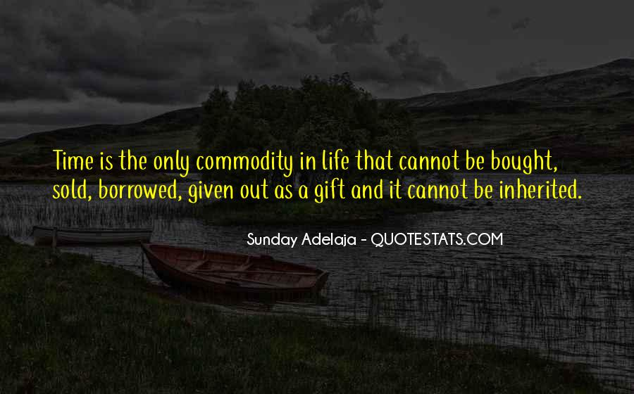 Quotes About Commodity #85057