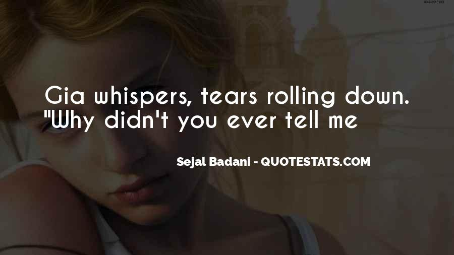 Quotes About Whispers #103482