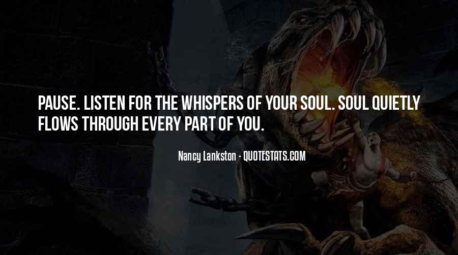 Quotes About Whispers #137736