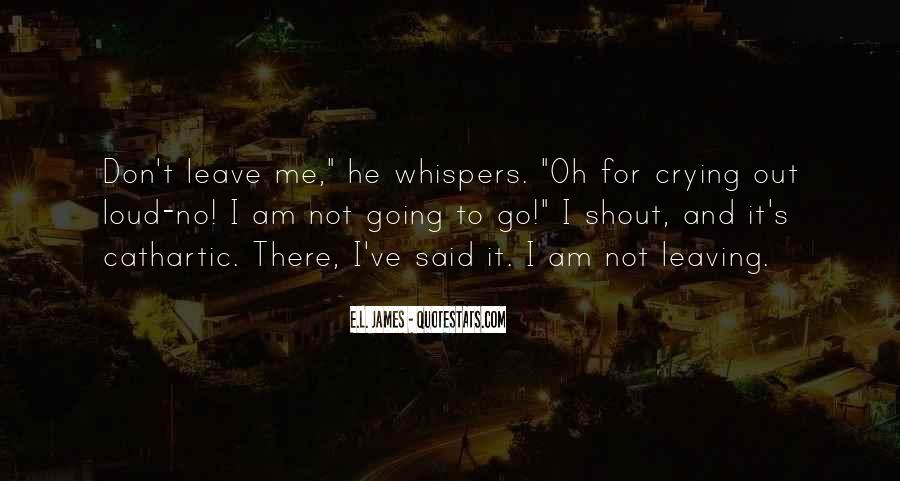 Quotes About Whispers #153856