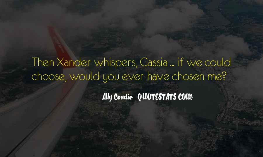 Quotes About Whispers #167115