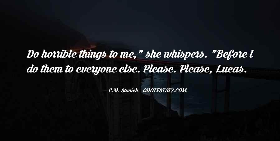 Quotes About Whispers #198360