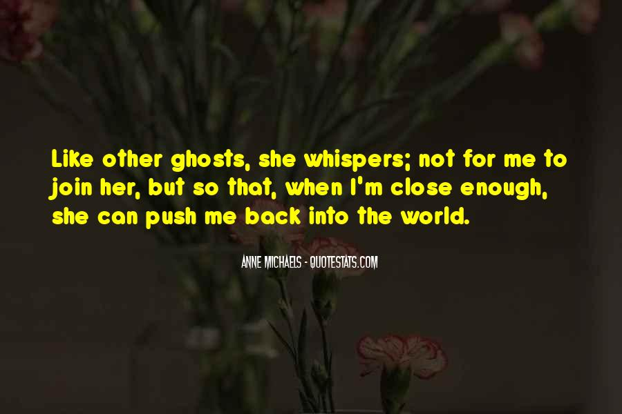 Quotes About Whispers #21577