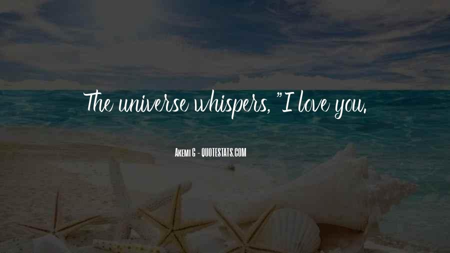 Quotes About Whispers #223954