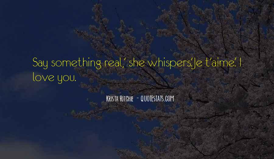 Quotes About Whispers #224427