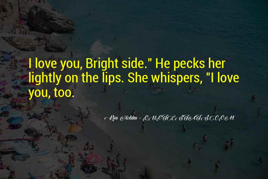 Quotes About Whispers #22863